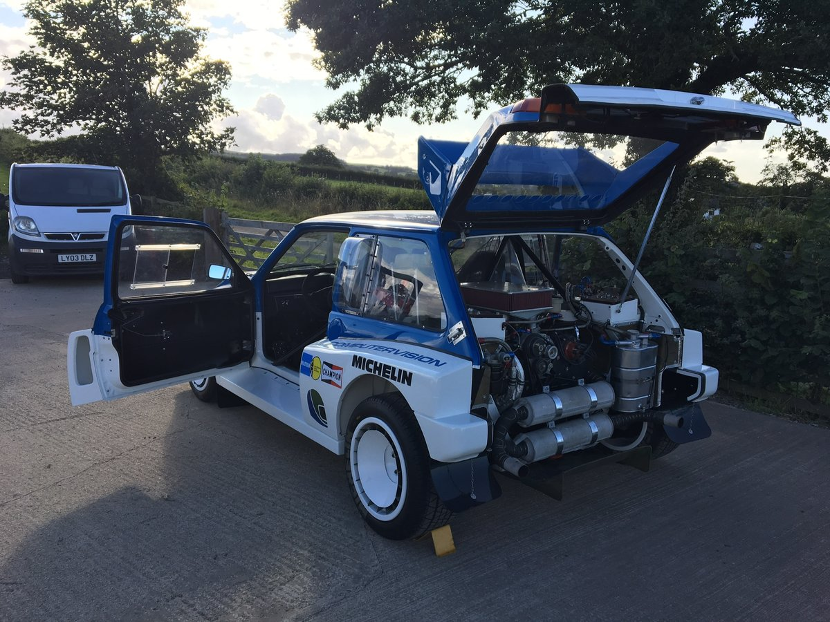 1984 International Spec Group B MG Metro 6R4 For Sale (picture 3 of 6)