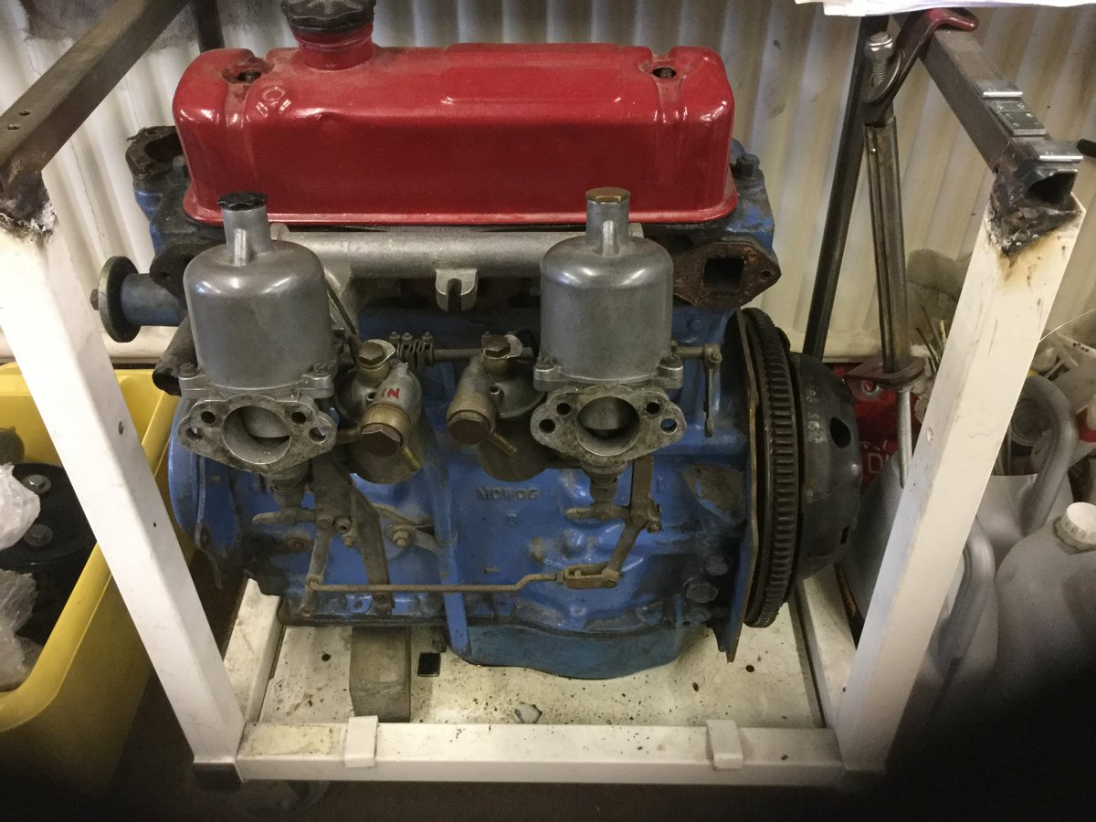 1950 MG Worsley Riley 1500 cc engine For Sale (picture 1 of 2)