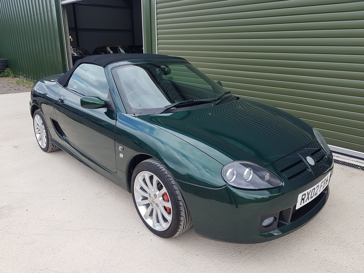 2002 MG TF 160 One owner & very low mileage SOLD (picture 1 of 6)