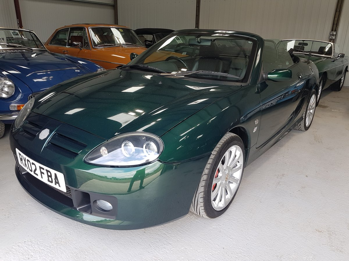 2002 MG TF 160 One owner & very low mileage SOLD (picture 3 of 6)