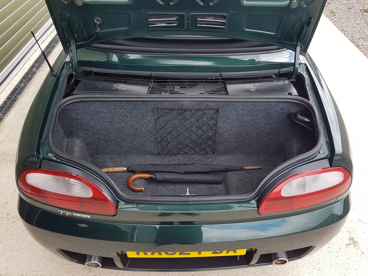 2002 MG TF 160 One owner & very low mileage SOLD (picture 6 of 6)