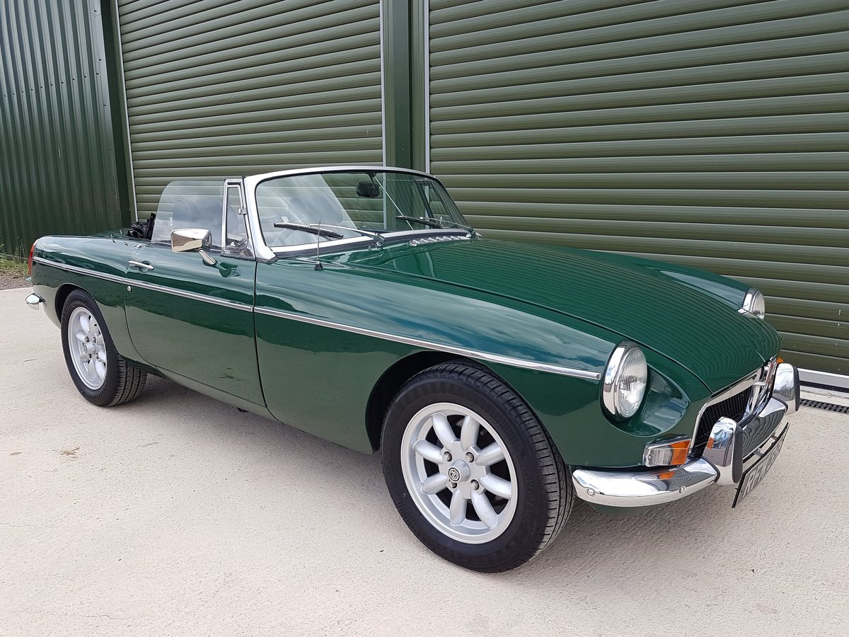 1972 MGB Roadster, previous Restoration SOLD (picture 1 of 6)