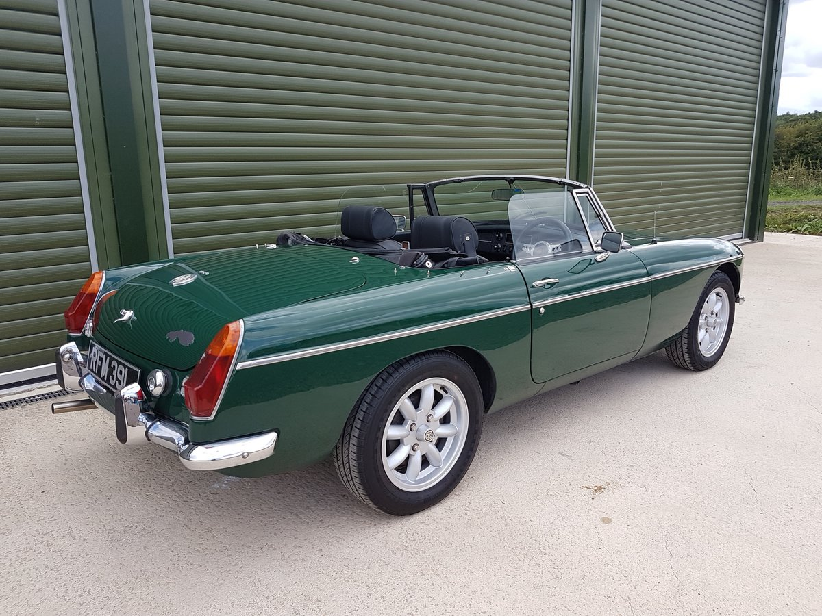 1972 MGB Roadster, previous Restoration SOLD (picture 2 of 6)