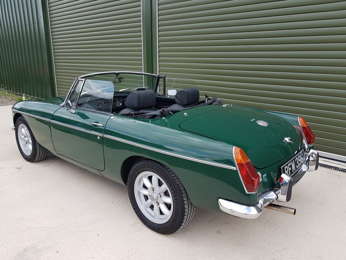 1972 MGB Roadster, previous Restoration SOLD (picture 3 of 6)