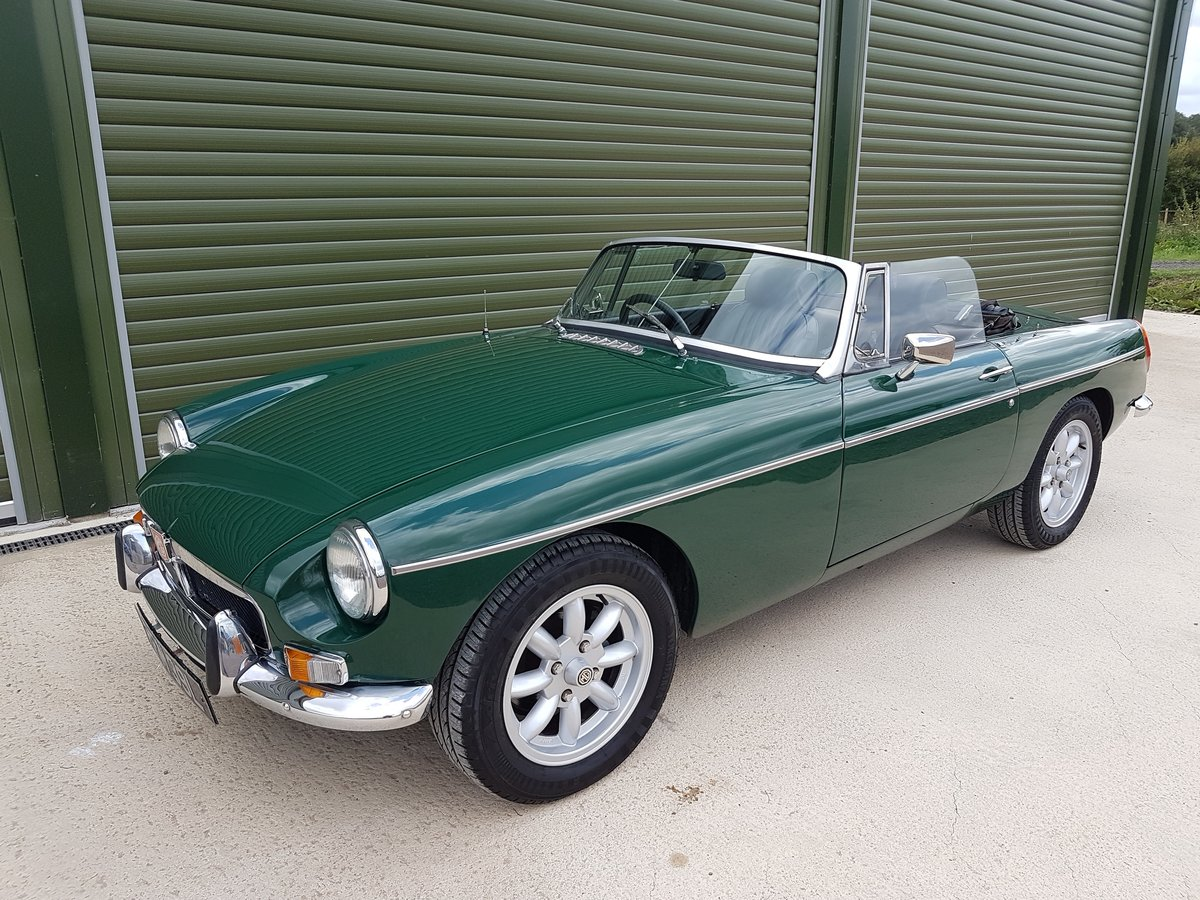 1972 MGB Roadster, previous Restoration SOLD (picture 4 of 6)