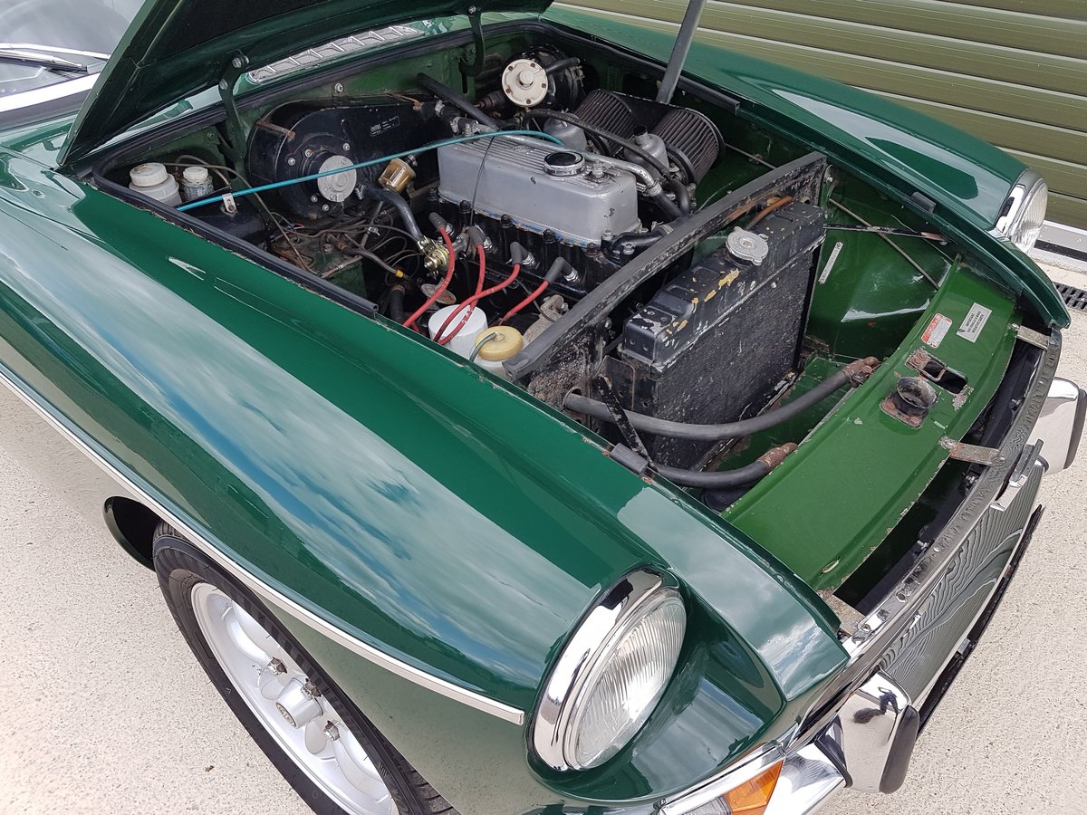 1972 MGB Roadster, previous Restoration SOLD (picture 6 of 6)