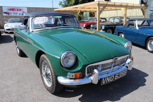 1967 MGB Roadster in BRG, Fully rebuilt, well known mgb For Sale