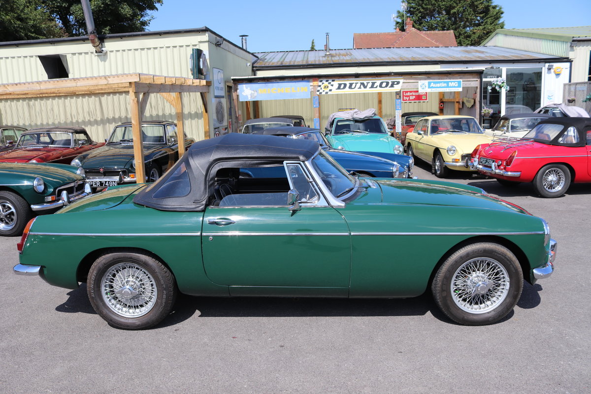 1967 MGB Roadster in BRG, Fully rebuilt, well known mgb SOLD (picture 4 of 5)