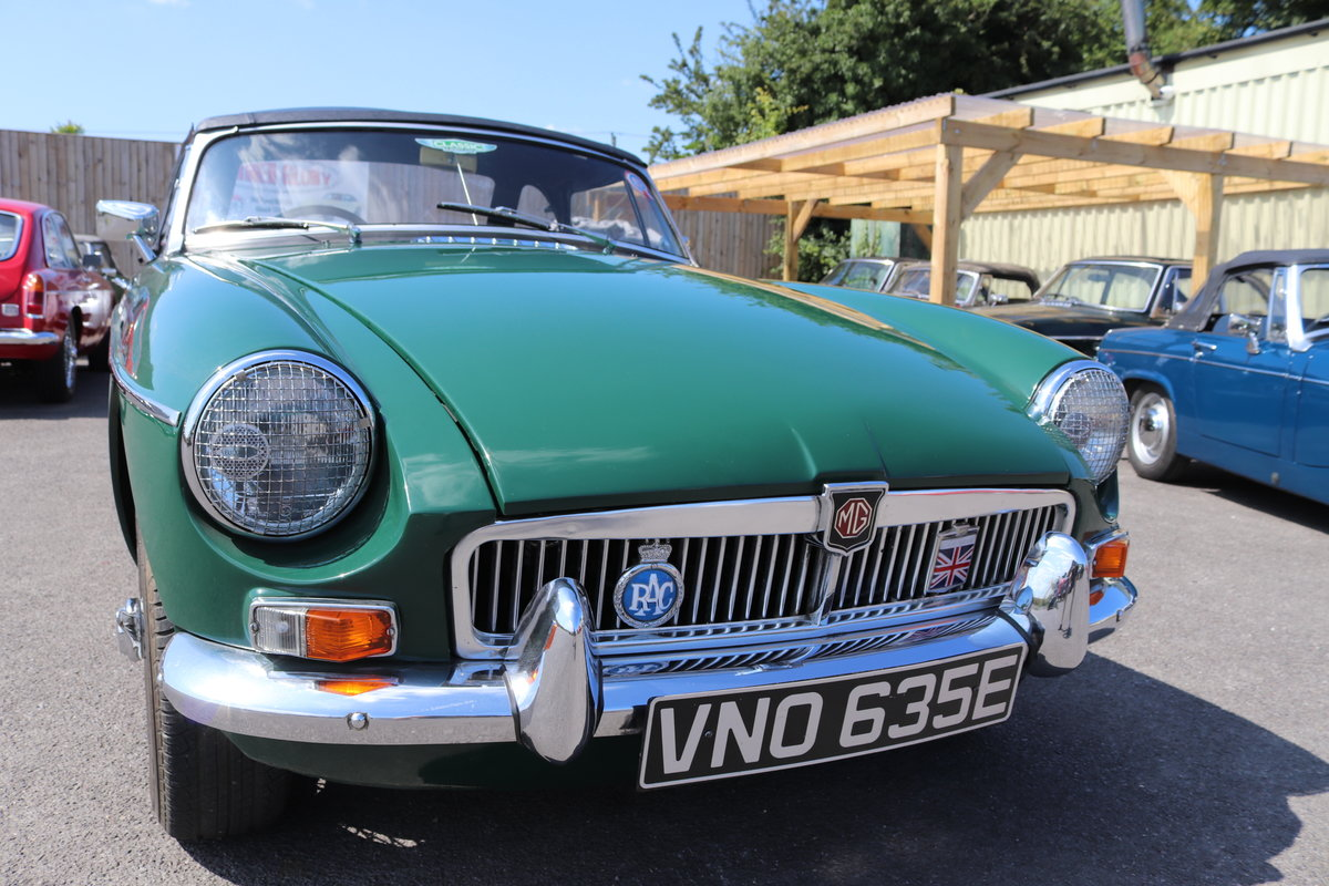 1967 MGB Roadster in BRG, Fully rebuilt, well known mgb SOLD (picture 5 of 5)