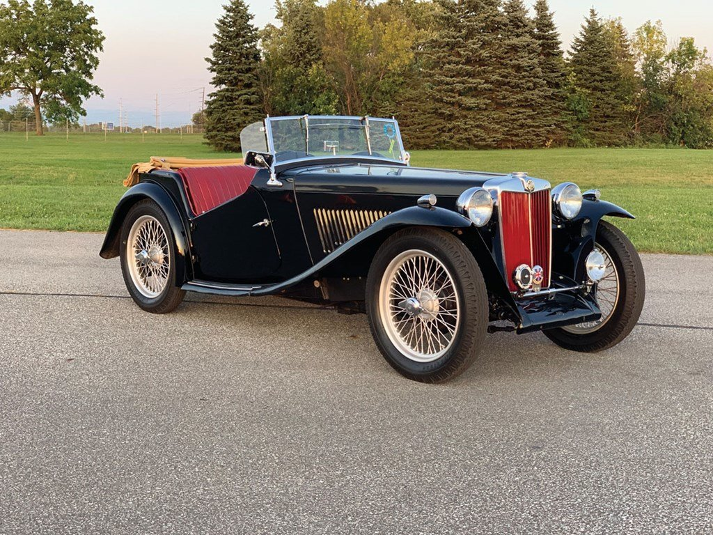 1948 MG TC  For Sale by Auction (picture 1 of 6)