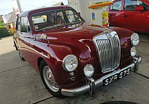 1957 MG Magnette ZB Saloon For Sale