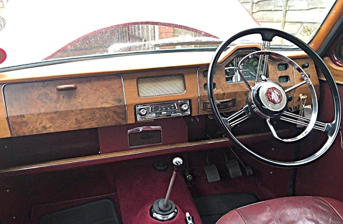 1957 MG Magnette ZB Saloon For Sale (picture 4 of 6)