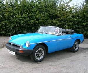 1979 MG B Roadster Project For Sale
