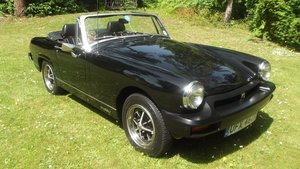 1982 MG MIDGET 1500 SPORTS LTD EDT For Sale