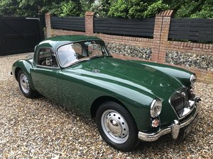 1961 MGA Coupe mk.11 - Rare Matching Numbers Car For Sale