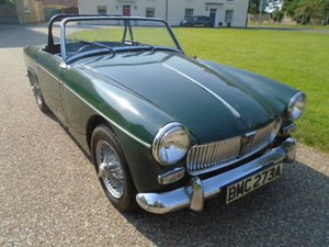 1963 MG Midget big bumper Mk1 model.  For Sale