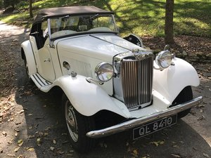 1952 MG TD  For Sale by Auction