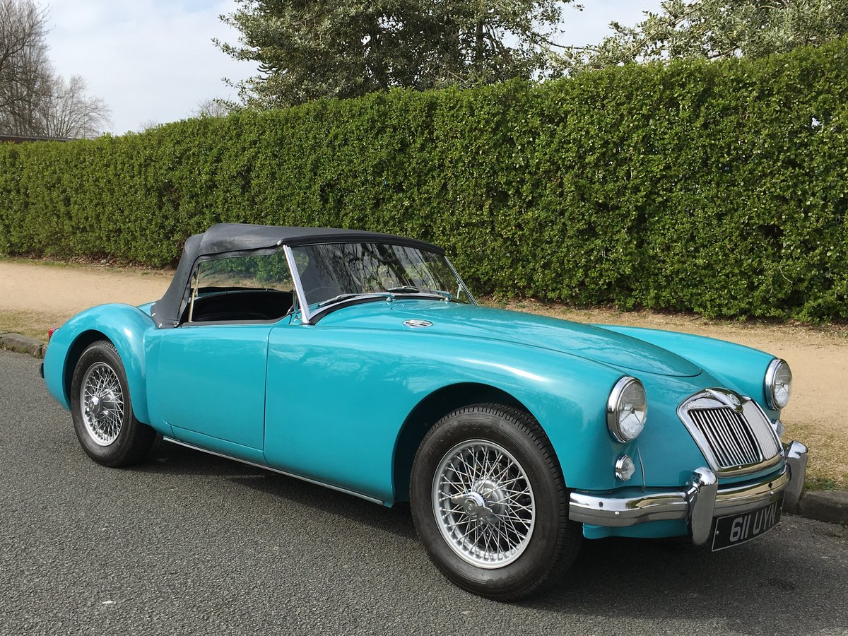 1957 MGA 1500 Roadster Ground up Restoration For Sale (picture 2 of 6)