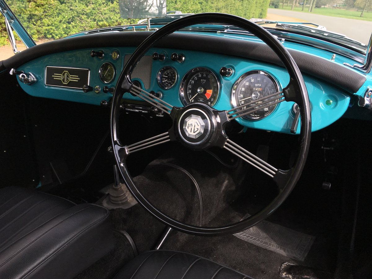 1957 MGA 1500 Roadster Ground up Restoration For Sale (picture 4 of 6)