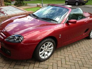 MGTF 2005 Firefrost Red Steptronic-Low Mileage For Sale