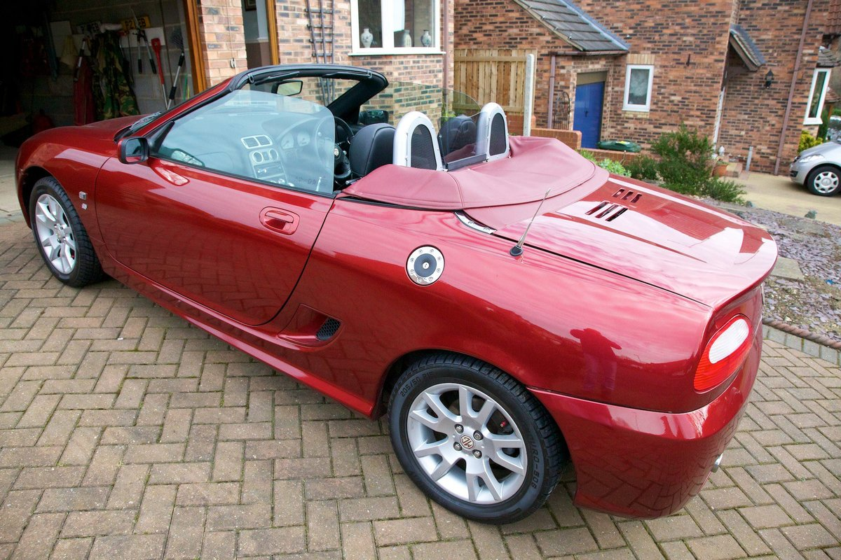 MGTF 2005 Firefrost Red Steptronic-Low Mileage For Sale (picture 2 of 6)