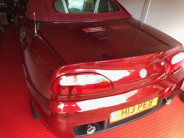 MGTF 2005 Firefrost Red Steptronic-Low Mileage For Sale (picture 5 of 6)