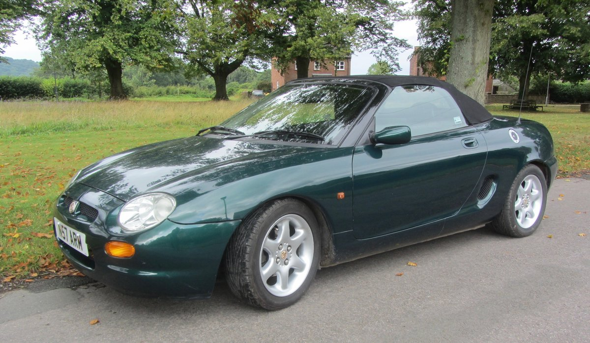 1996 MGF Low-Mileage SOLD (picture 1 of 6)