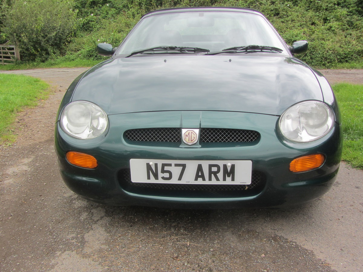 1996 MGF Low-Mileage SOLD (picture 5 of 6)