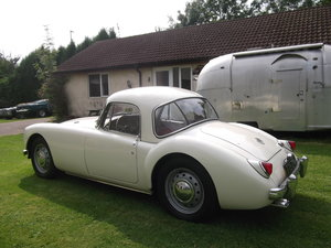 1959 MG A 1500cc, Fixed Head Coupe, Left Hand Drive, MGA