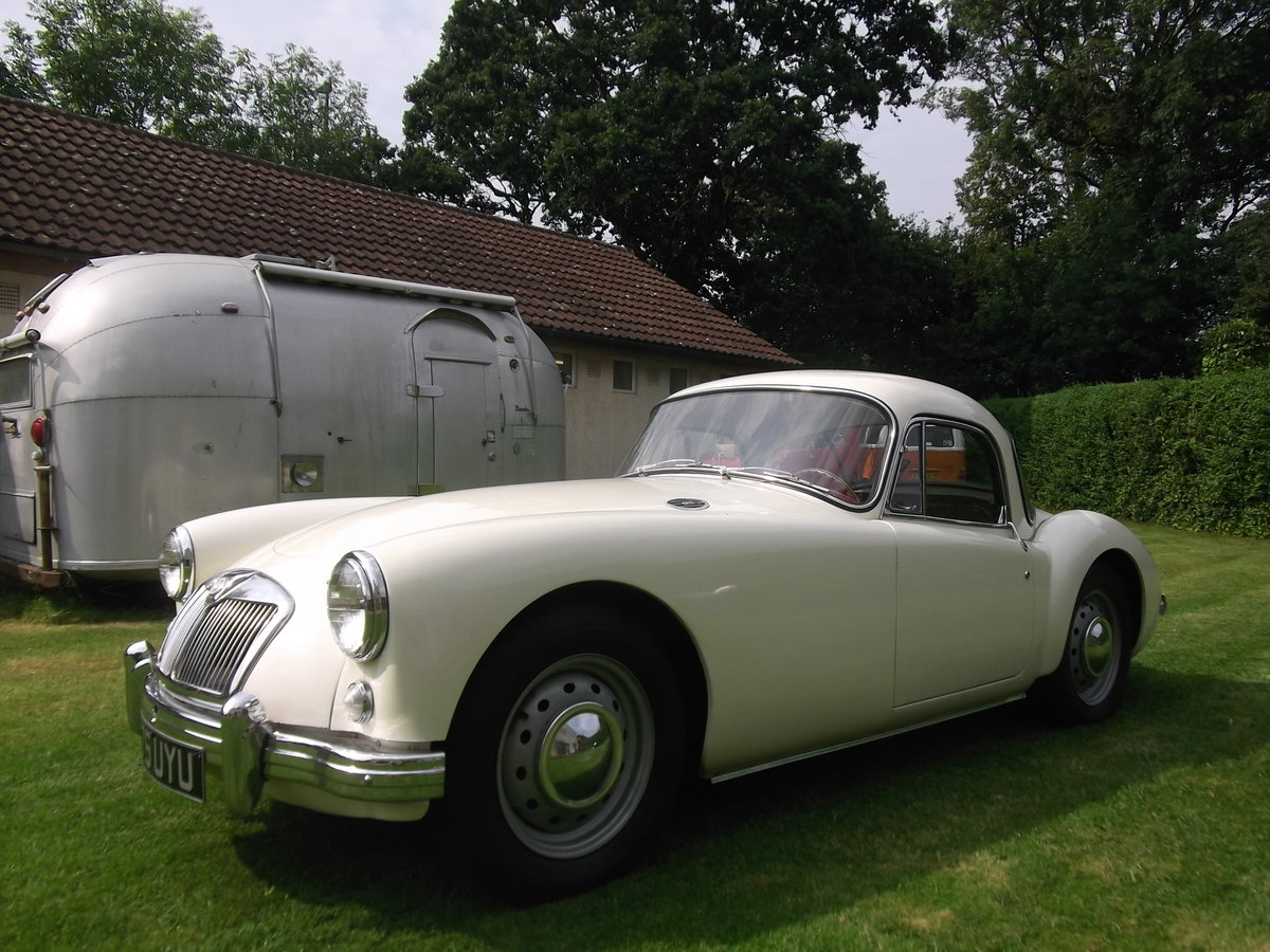 1959 MG A 1500cc, Fixed Head Coupe, Left Hand Drive, MGA For Sale (picture 2 of 6)