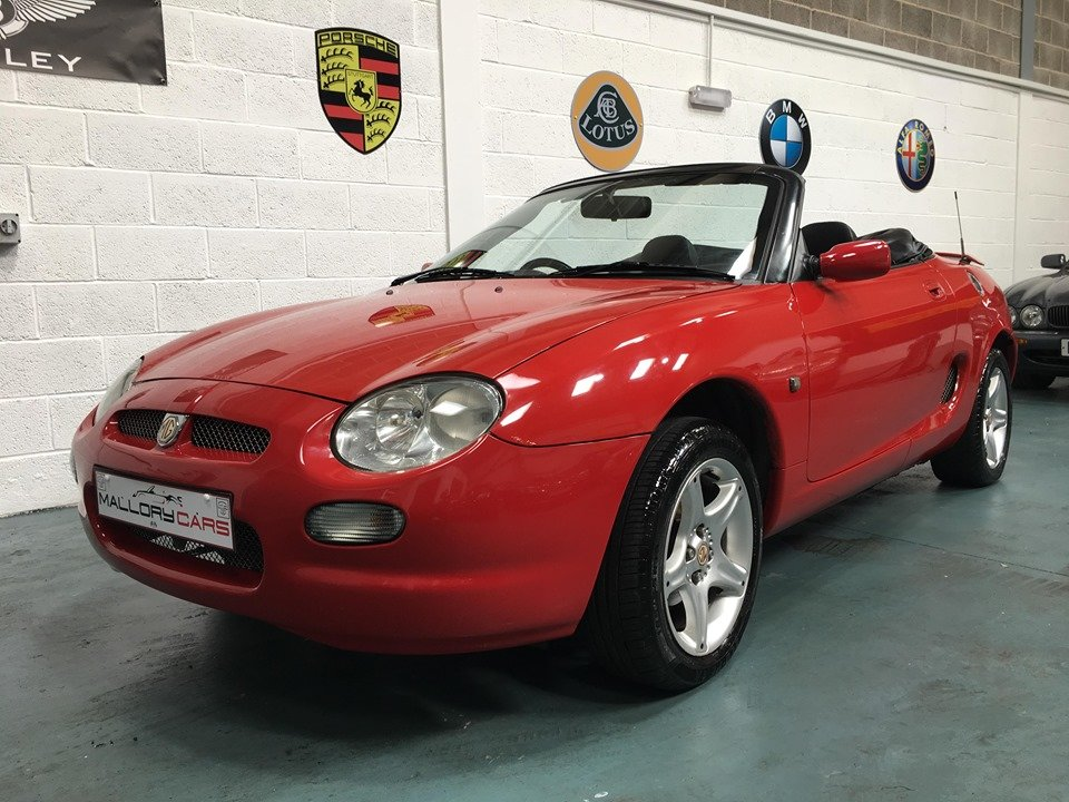 1998 MGF great classic convertible For Sale (picture 1 of 6)