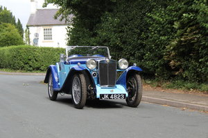 1935 MG PA in Oxford & Cambridge Blue - 8k since 90's rebuild For Sale