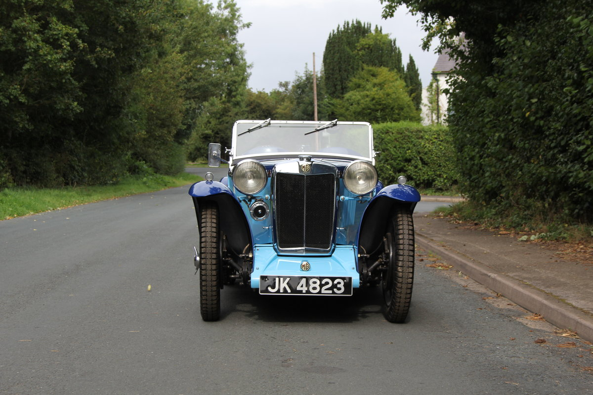 1935 MG PA in Oxford & Cambridge Blue - 8k since 90's rebuild SOLD (picture 2 of 20)