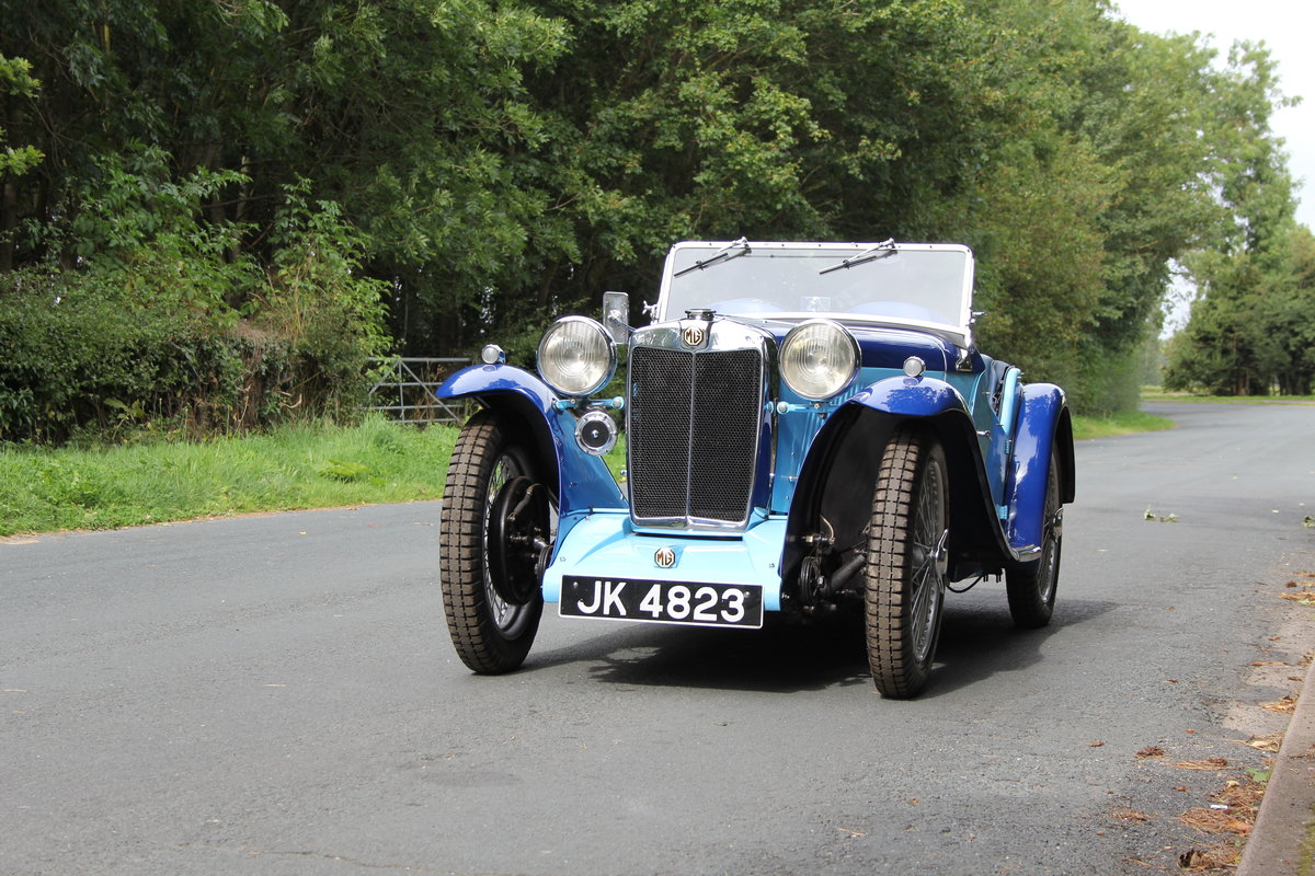 1935 MG PA in Oxford & Cambridge Blue - 8k since 90's rebuild SOLD (picture 3 of 20)