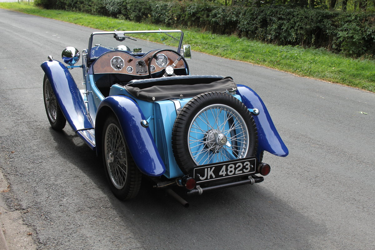 1935 MG PA in Oxford & Cambridge Blue - 8k since 90's rebuild SOLD (picture 4 of 20)
