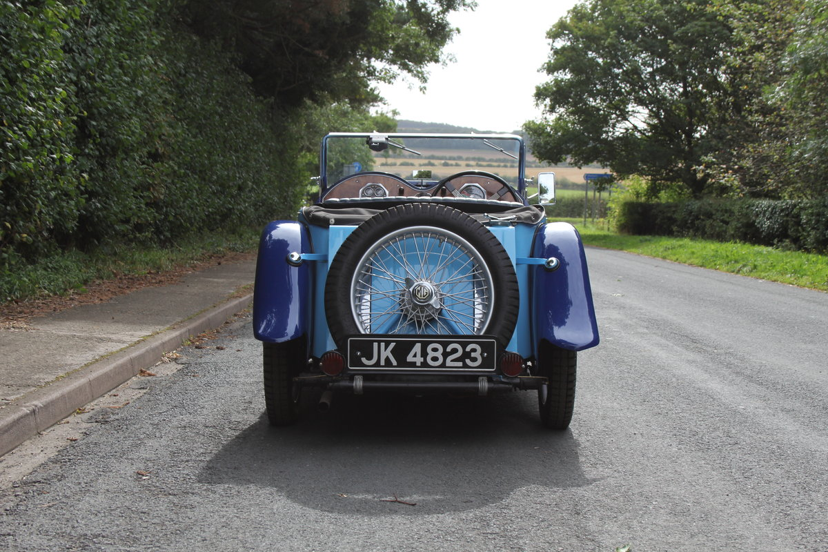 1935 MG PA in Oxford & Cambridge Blue - 8k since 90's rebuild SOLD (picture 5 of 20)