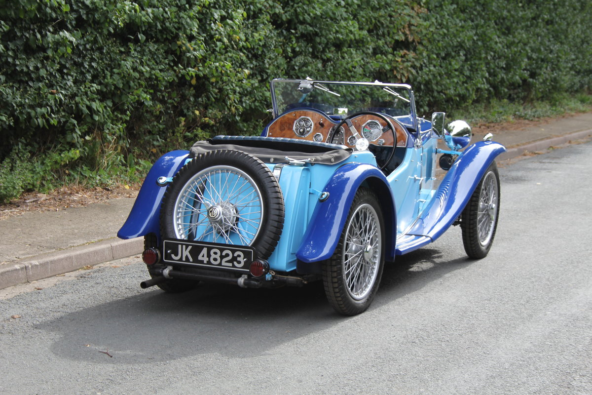 1935 MG PA in Oxford & Cambridge Blue - 8k since 90's rebuild SOLD (picture 6 of 20)