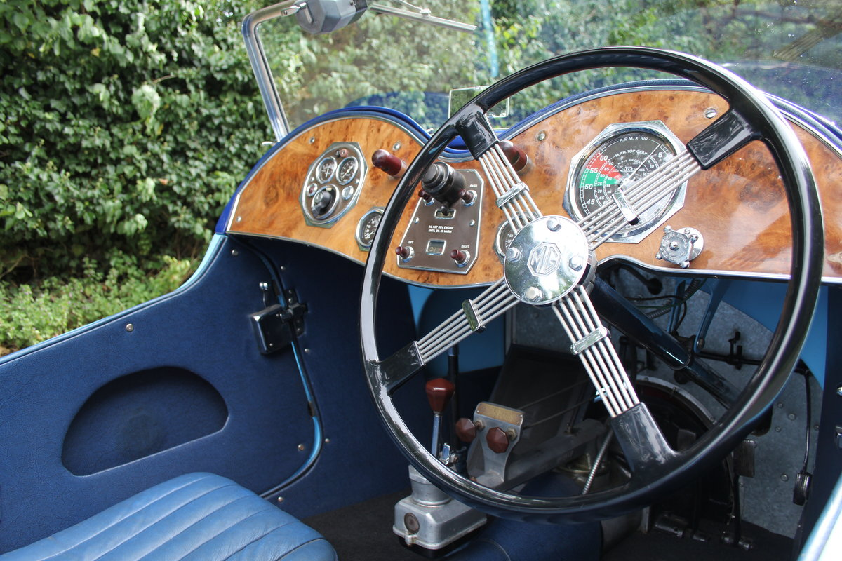 1935 MG PA in Oxford & Cambridge Blue - 8k since 90's rebuild SOLD (picture 7 of 20)