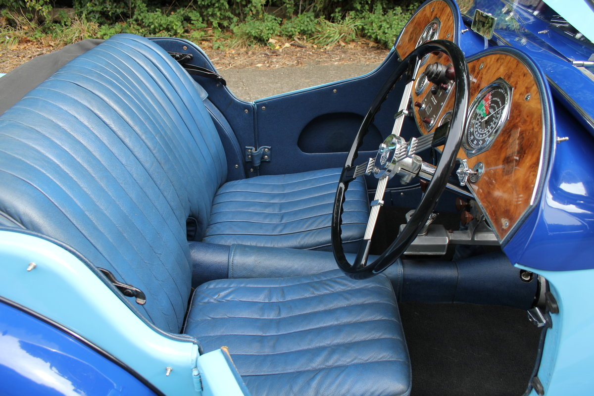 1935 MG PA in Oxford & Cambridge Blue - 8k since 90's rebuild SOLD (picture 8 of 20)