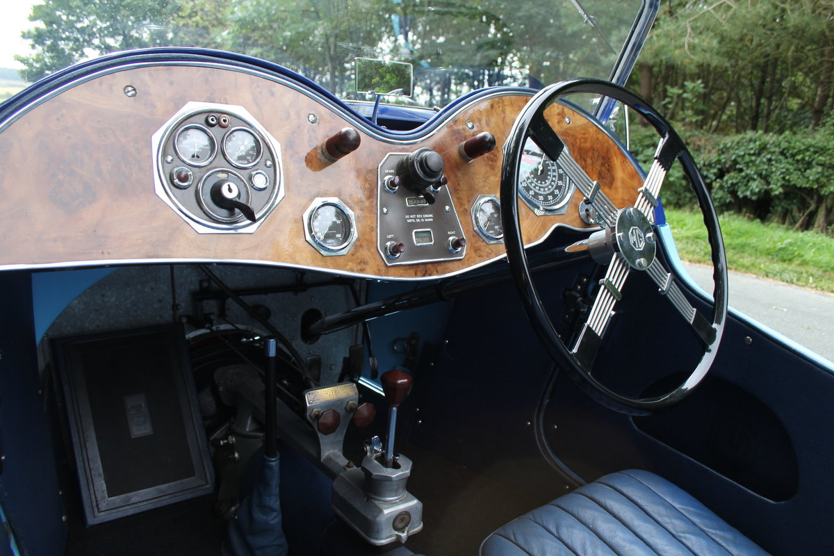 1935 MG PA in Oxford & Cambridge Blue - 8k since 90's rebuild SOLD (picture 10 of 20)