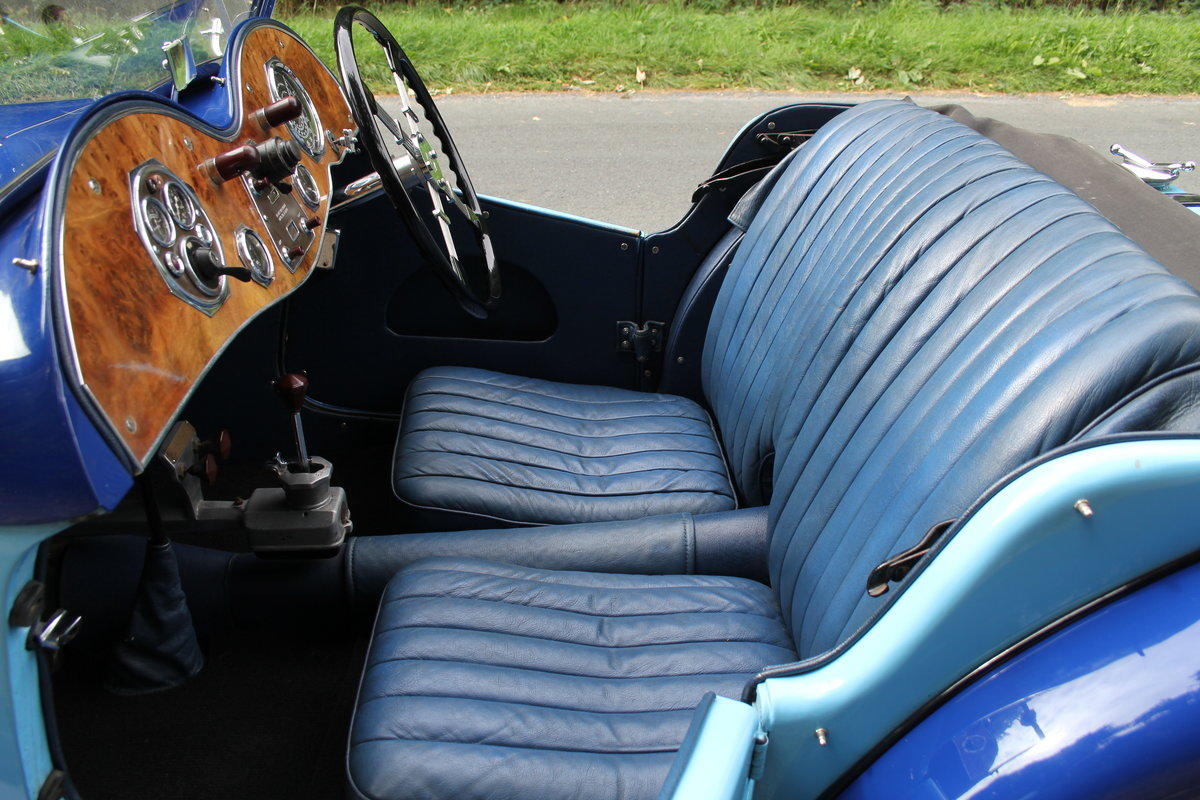 1935 MG PA in Oxford & Cambridge Blue - 8k since 90's rebuild SOLD (picture 11 of 20)