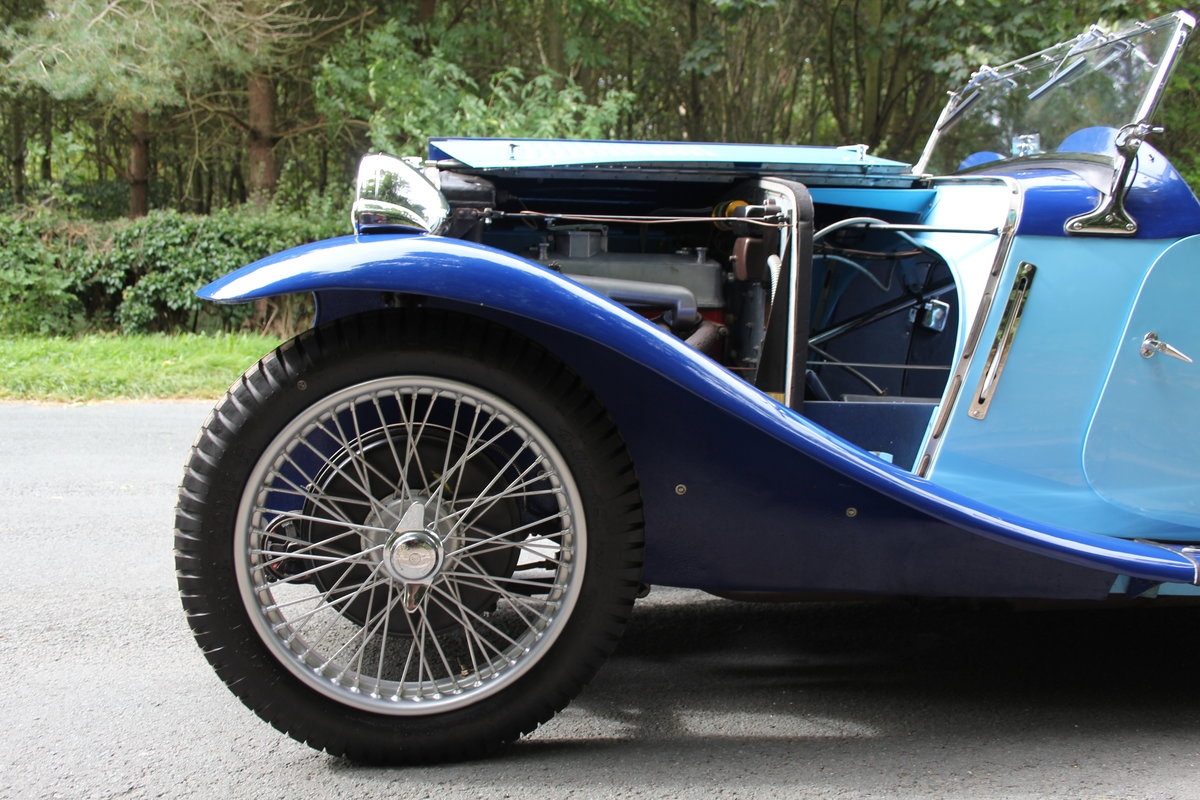 1935 MG PA in Oxford & Cambridge Blue - 8k since 90's rebuild SOLD (picture 13 of 20)