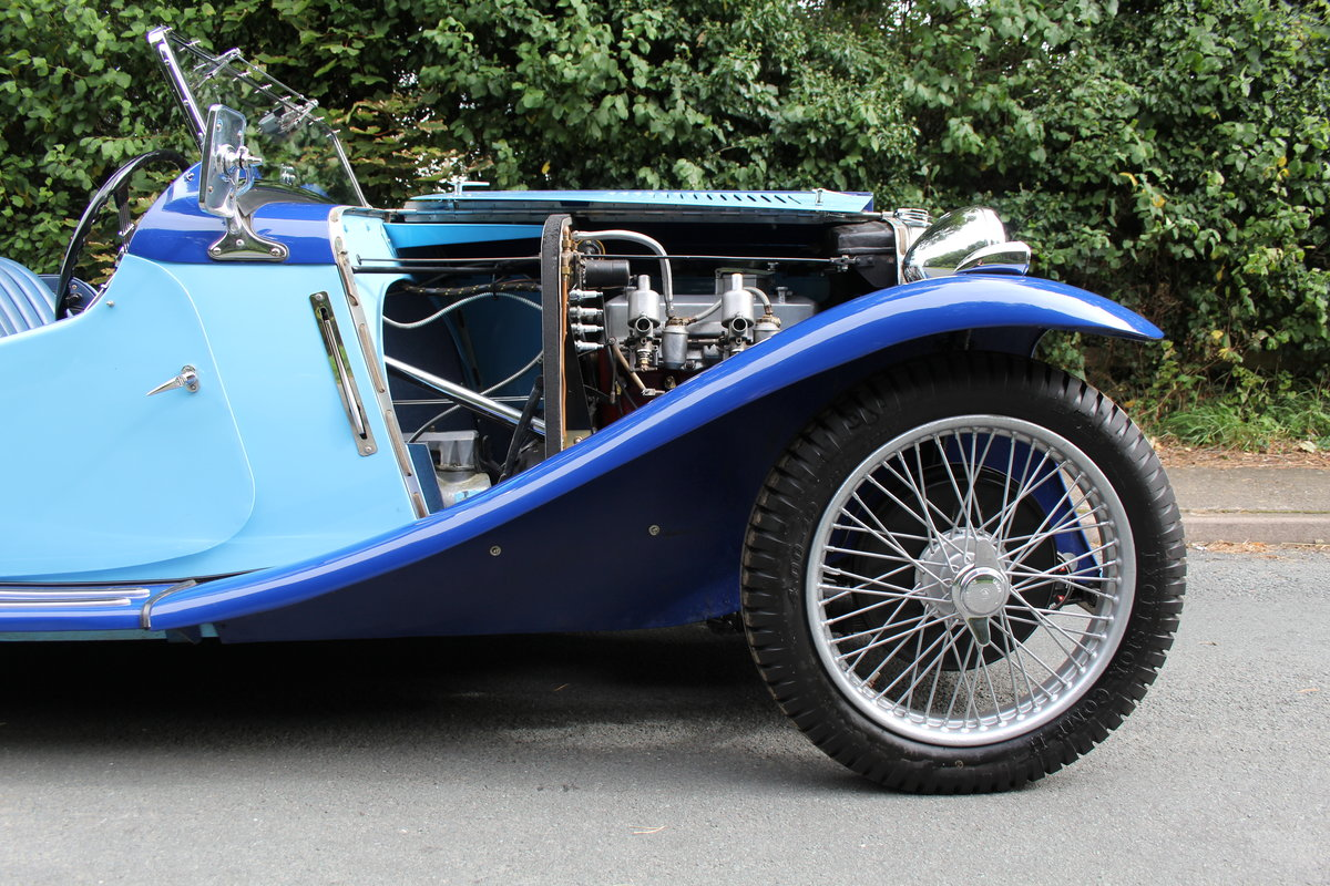 1935 MG PA in Oxford & Cambridge Blue - 8k since 90's rebuild SOLD (picture 17 of 20)