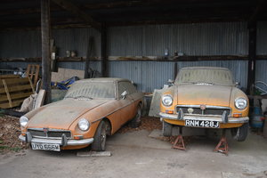 A 1971 and a 1973 MGB - 03/11/2019 For Sale by Auction