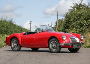 1956 MG A Roadster SOLD by Auction
