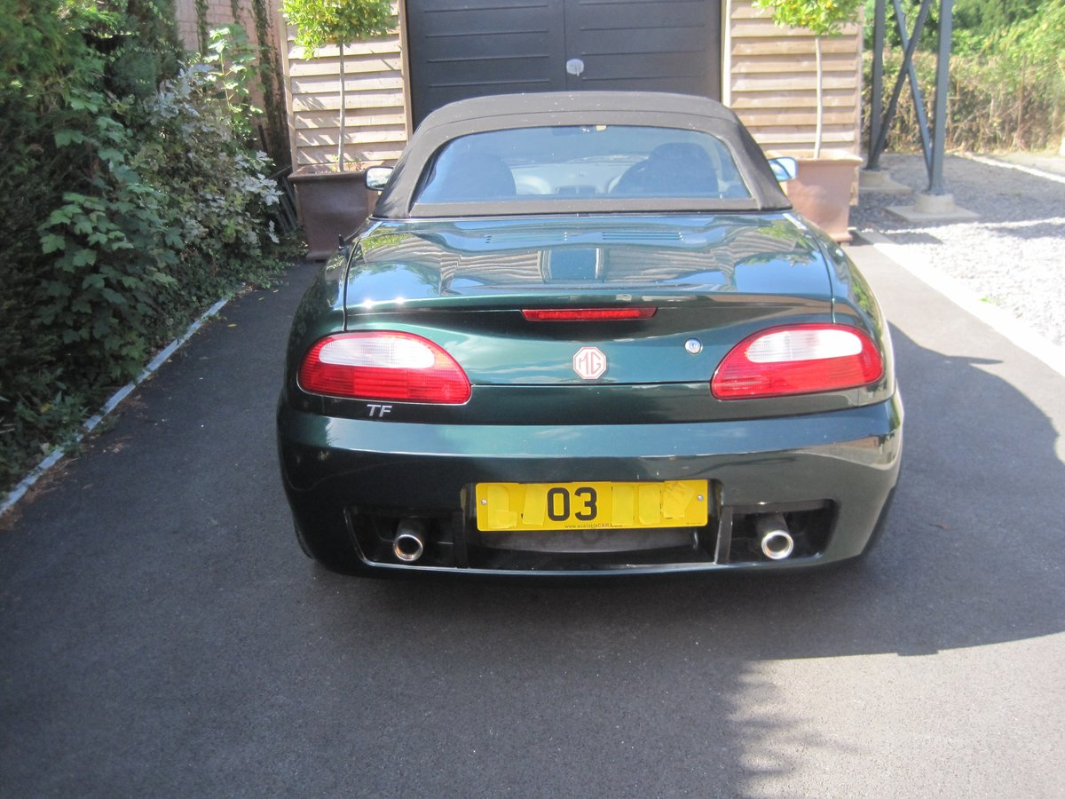 2003 MGTF ONLY 22000 MILES. ENTHUSIAST REQUIRED For Sale (picture 2 of 6)