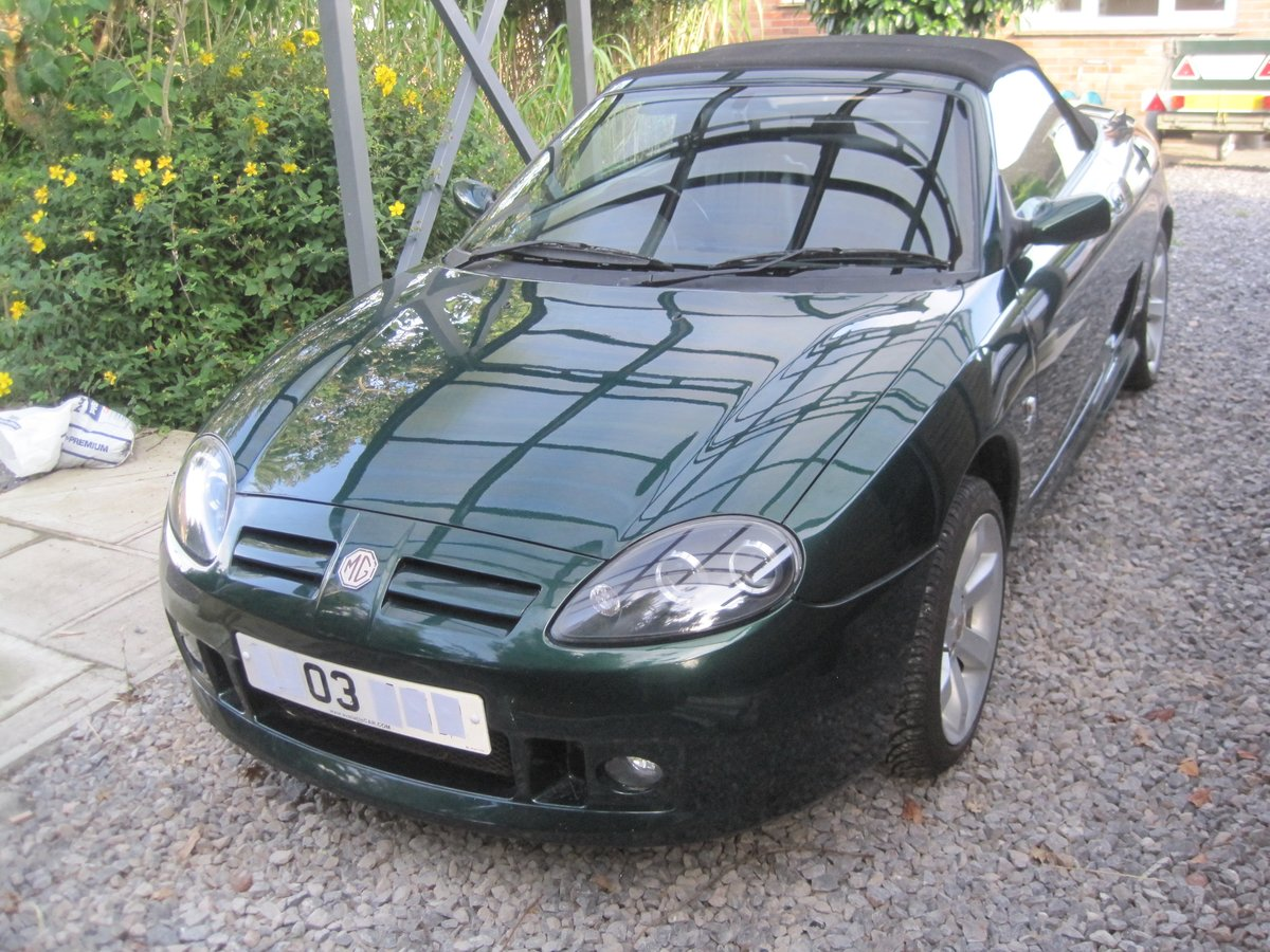 2003 MGTF ONLY 22000 MILES. ENTHUSIAST REQUIRED For Sale (picture 3 of 6)