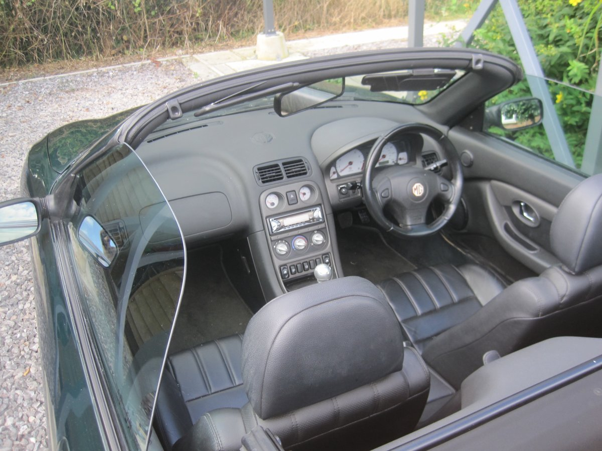 2003 MGTF ONLY 22000 MILES. ENTHUSIAST REQUIRED For Sale (picture 4 of 6)