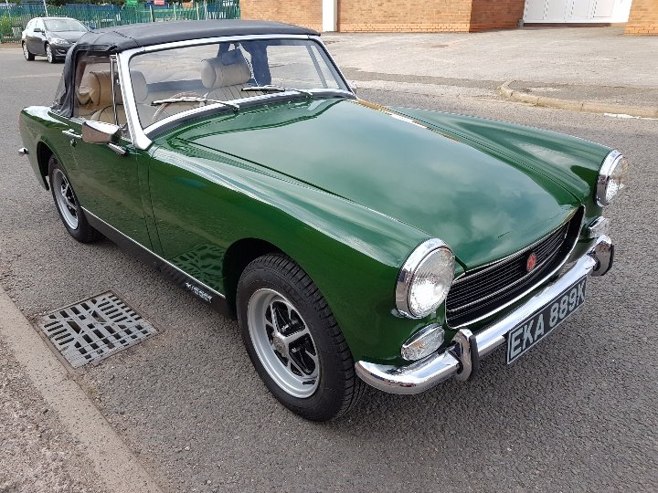 MG Midget RWA 1971, Totally rebuilt engine! SOLD (picture 1 of 6)