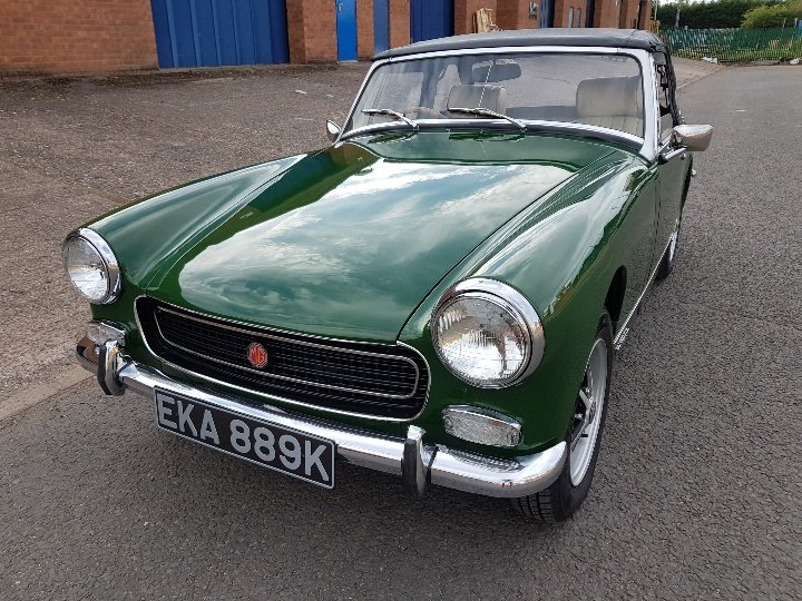 MG Midget RWA 1971, Totally rebuilt engine! SOLD (picture 2 of 6)